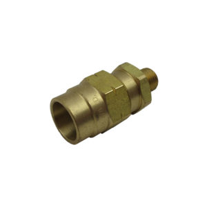 "Connector | 3/8"" Hose x 1/4"" MP"