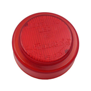 "Light | LED, 2.5"" Round, Red"