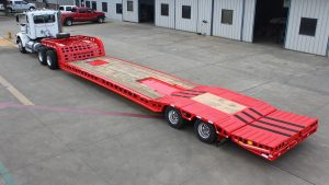 Murray Trailer | 23' Deck Tail Stowed