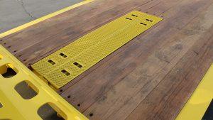 Murray Trailer | Paver Ramp Storage on Deck