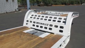 Murray Trailer | Wedge Ramp Storage Front of Deck