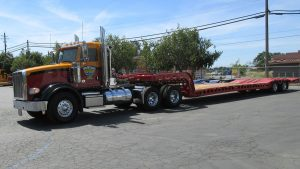 Murray Trailer | Hooked up to Tractor