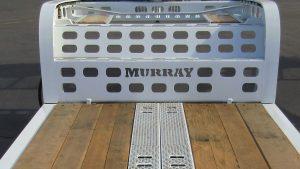 Murray Trailer | Main Deck with Paver Ramp Storage