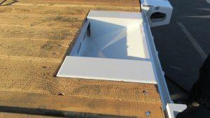 Murray Trailer | Front Deck Wedge Ramp Storage