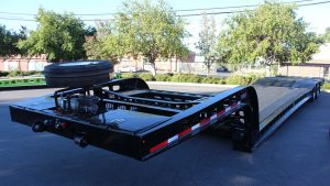 Murray Trailer | Gooseneck with Winch Tool Boxes & Spare Tire Mount