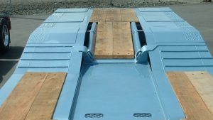Murray Trailers | Wood Deck Ramp Transition to Deck Plate