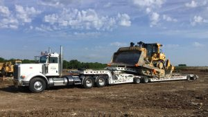 Murray Trailers | Loaded with D9T Bulldozer