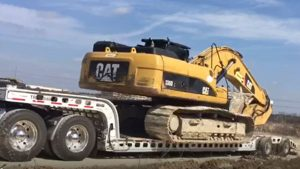 Murray Trailers | Pro Loaded with 336D Excavator