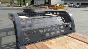 Murray Trailers | Pro Neck Straight Apron 2 Bridgeplates
