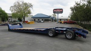"Murray Trailers | 21' 6"" Deck Standard Read End Long Tail"