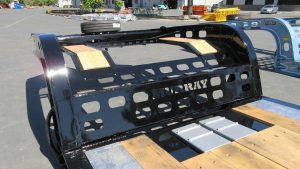 Murray Trailers | Pro Deck Wedge Ramp Storage